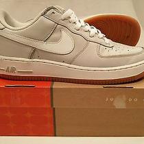 Nike Air Force 1 Neutral Grey/white Gum Sole- Size 11 Photo
