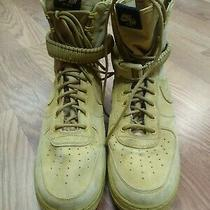 Nike Air Force 1 Sf Af1 Elemental Gold Mens Sneakers Desert High Top Size 13 Photo