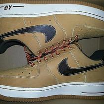 Nike Air Force 1 Timberland  Gum Soles Men Us Size 10.5 Brand New in the Box Photo