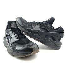 Nike Air Huarache 318429 052 Black/elemental Gold Men's Running Shoes Size 12 Photo