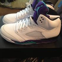 Nike Air Jordan 5 Grape Retro 10 Concord Bred Cement Aqua Mars   Photo