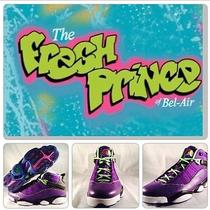 Nike  Air Jordan 6 Rings Fresh Prince of Bel Air  322992 515  Size 12  Photo