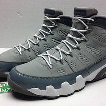 Nike Air Jordan 9 Ix Retro Cool Grey 2012 Bred Citrus Kilroy Cherry Aqua Size 12 Photo