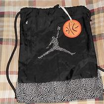 Nike Air Jordan Drawstring Bag Photo
