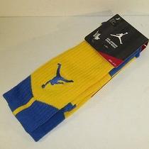 Nike Air Jordan Dri-Fit Laney Crew Sock Sz Lg 530977-704 Photo