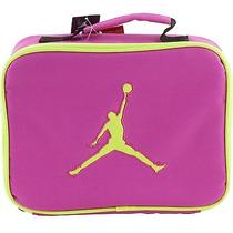 Nike Air Jordan Jumpman Neon Volt Pink Soft School Insulated Lunch Tote Box Lk Photo