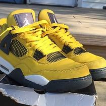 Nike Air Jordan Retro 4 Iv Lightning Photo