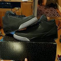 Nike Air Jordan Retro 5lab3 Black 3m Sz 12 Vnds 3lab5 Silver Elements  Icy Photo