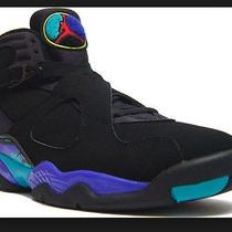 Nike Air Jordan Retro 8 Aqua Purple  Photo