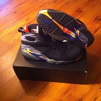 Nike Air Jordan Retro 8 Pheonix Suns  Citrus Viii W Receipt Size 12 Aqua Playoff Photo