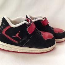 Nike Air Jordan Toddler Shoes Sz 6- Red/black Photo
