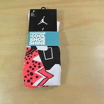 Nike Air Jordan Vi Infrared Elite Dri-Fit White Crew Socks L 8 9 10 11 12 Photo