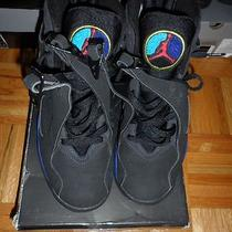 Nike Air Jordan Viii 8 Aqua Retro Playoff Iv Xi Iii Cement Black Blue Chrome  Photo