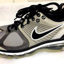 Nike Air Max 2010 Us Shoes Size 4y Kids Grade School Gray Athletic  Photo