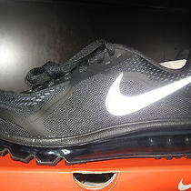 Nike Air Max 2014 621078 007 Womens Black Silver Athletic Running Shoes Sz 10 Photo