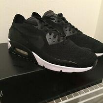 Nike Air Max 90 Ultra 2.0 Flyknit Sneaker Men's Shoe Black 875943-004 Size 13 Xi Photo