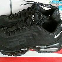 Nike Air Max 95 Black Prm Tape Reflective Size 10.5 Photo