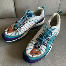 Nike Air Max 98 Size 9.5 Hornets Court Purple Terra Blush Spirit 640744-500 Photo