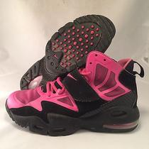 Nike Air Max Express - 525251-001 - black.pink - Girl's Size 7y - Good Photo