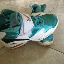 Nike Air Max Express Dolphins Mens 525224-101 Turquoise Training Shoes Size 8.5 Photo