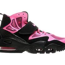 Nike Air Max Express (Girls). Size 4y. Black and Pink. Photo