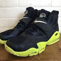 Nike Air Max Express Men's Basketball Training Shoes Blue Green Size 10.5 Photo