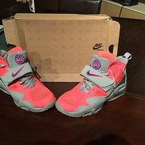 Nike Air Max Express Pink and Grey Photo