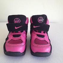 Nike Air Max Express Toddler Size 7c Black/dessert Pink 525252-001  Photo