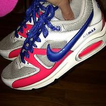 Nike Air Max Girls Sz. 4.5 Lace Up Sneaker. Great Pair Photo