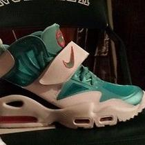 Nike Air Orange and Teal Miami Dolphins Colors Size 10.5 Photo