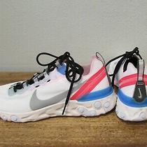 Nike Air React Element 55 Blue Hero Womens 7.5 Trainer Sneakers Ck4462-100 Photo