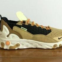 Nike Air React Element 55 Se Sertu the 10th Wheat Beige New Size 9 At5301-700 Photo