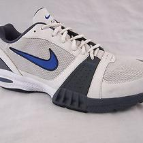Nike Air Training Athletic Tennis Shoes Mens White Gray Size 14 Photo