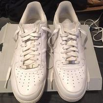 Nike Airforce 1's Low Tops White Size 11 Photo