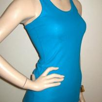 Nike Aqua Teal Fit Dry Athletic Racerback Tank Top S Photo