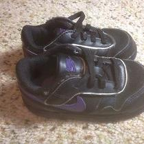 Nike Baby Boy  Sneakers Laces  Size 7c Black Ked Photo