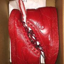 Nike Blazer Custom Size 9 Red October Balenciaga Arena Photo