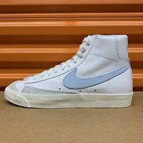 Nike Blazer Mid 77 Vintage White/celestine Blue Mens Shoes (Bq6806 109) Sz 8.5 Photo