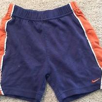 Nike Blue and Orange Shorts (24m) Photo