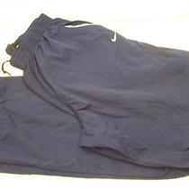 Nike Blue Athletic Pants- L Photo