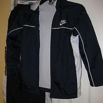 Nike Boys Running Suit Jacket and Pants S Photo