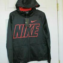 Nike Boys Therma Hoodie Fz Gfx Size Xl Nwt Msrp 50.00 Nwt Photo