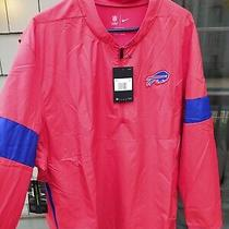 Nike Buffalo Bills on Field Coaches Jacket/windbreaker  Sz 2xl Red Nfl Pullover Photo