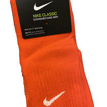 Nike Classic Cushioned Knee High Soccer Socks Size Men 8-12 Women 10-13 Photo