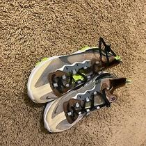Nike Core Reaction 40 Vision Element Size 8 Womens Running Shoes. Tan Coloring Photo