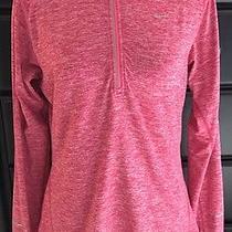 Nike Dri-Fit Element Half Zip Pink/heather Color Size Medium Photo