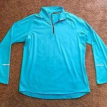 Nike Dri-Fit Element Half-Zip Shirt Sz. L Euc Photo