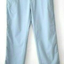 Nike Dri Fit Golf Pants Mens Actual Size 34 X 32 Light Blue Pockets Flat Front  Photo