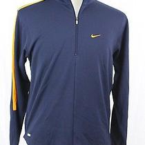 Nike Dri-Fit Long Sleeve Polo Shirt Half-Zip Pullover Mesh Keep Dry Men's S Nwt Photo