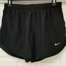 Nike Dri-Fit Tempo Athletic Shorts Womens Size Xl Black Lined 3 Inch Inseam Euc Photo